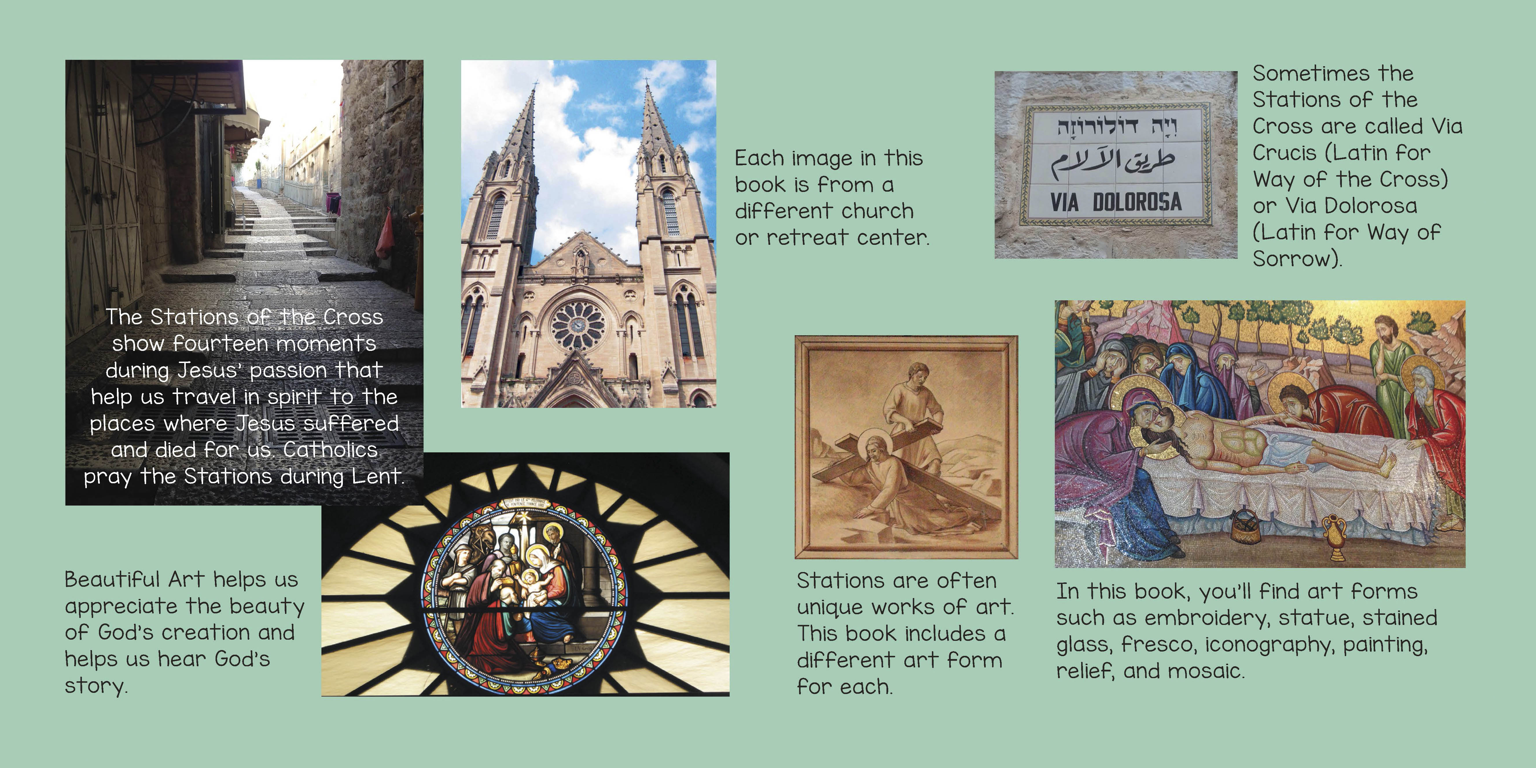 Stations of the Cross have a long history in the Catholic Church.